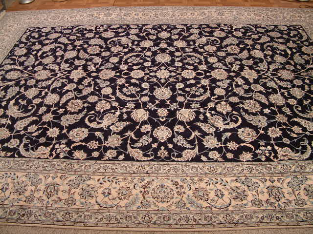 Naiin 6 LAH 600KPSI Persian rug #5146, click on the picture or description for more details about this Persian rug and other Persian carpets in ecuador.