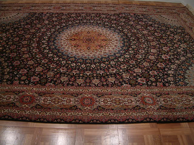 Tabriz Persian rug #5150, click on the picture or description for more details about this Persian rug and other Persian carpets in Wisconsin.