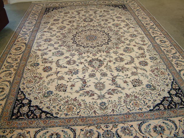 Nain 6 LAH Persian rug #5156, click on the picture or description for more details about the Persian carpets.