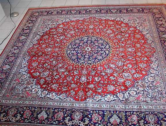 Persian rug client in Texas