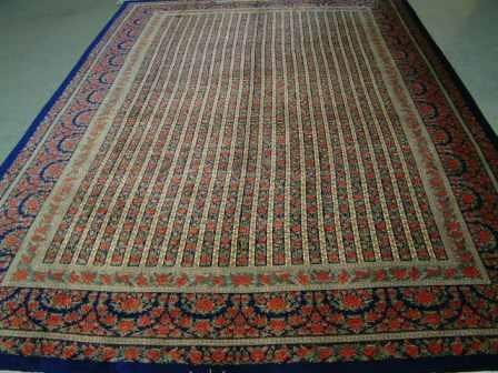 Qom Persian rug #5155, click on the picture or description for more details about the Persian carpets.