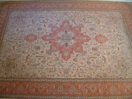 Tabriz Persian rug #5106, click on the picture or description for more details about the Persian carpets.