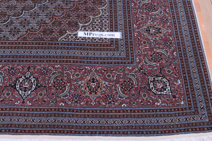 10x12 mahi tabriz persian rug with 350 kpsi