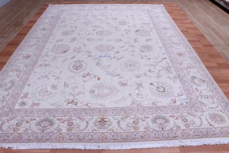 8x11 Faraji Signature Tabriz Persan rug