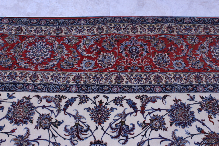 14x10 Isfahan rug ~1300 KPSI made for the Shah family.