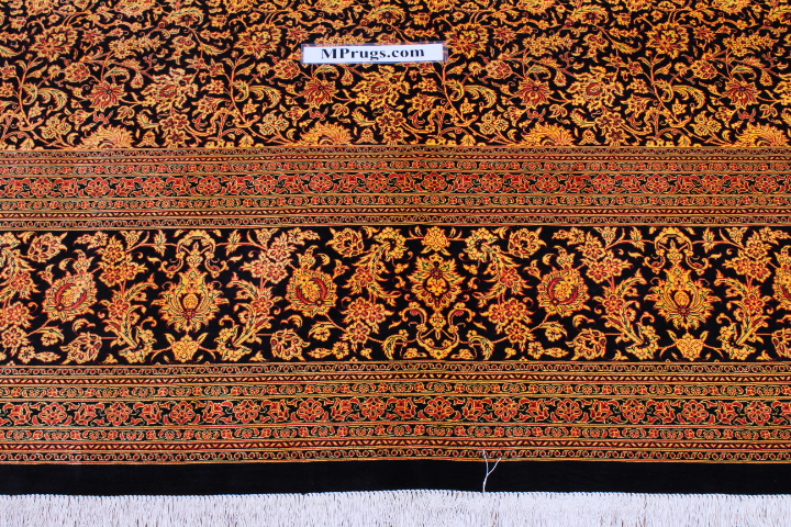 Versace Qom Persian Rugs Silk Qum Carpet 05585