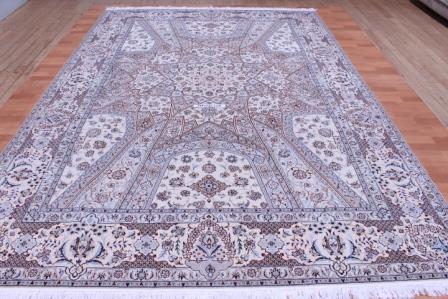11x8 Nain Gonbad Persian rug 6La 500 kpsi