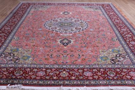 10x13 high quality handmade Tabriz Persian rug