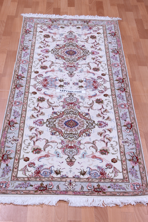 6' 2m long tabriz persian rug runner