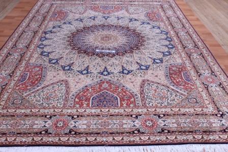 50 Raj Gonbad Tabriz Persian Rug