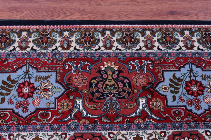 10x13 60 Raj Tabriz Signature Persian Rug with 400 KPSI