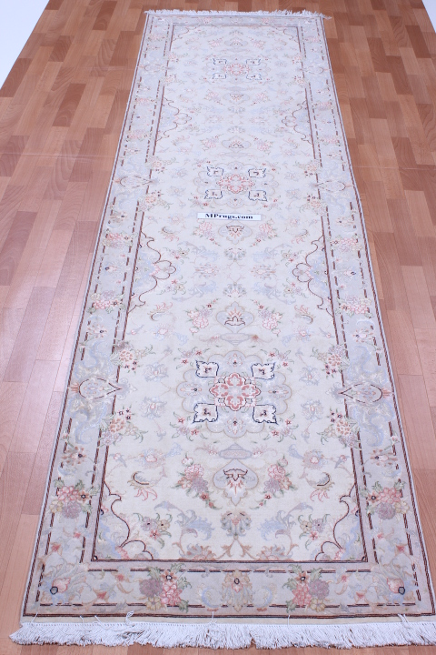 12' 3m Tabriz silk Persian rugs