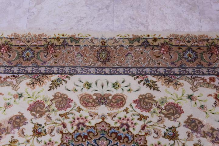 twin 70 raj tabriz silk persian rugs. 600 kpsi tabriz twin carpets