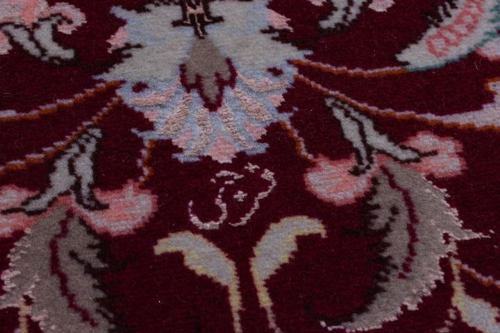 20' 50 Raj Faraji Tabriz Persian rug runner. Signed faraji Tabriz Persian carpet.