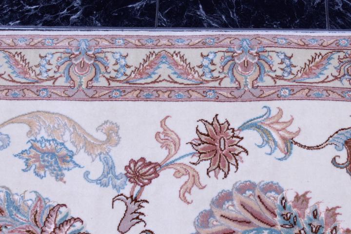 6' 2m long tabriz persian rug runner
