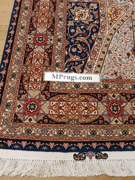 7x5 Gonbad Tabriz Persian rug