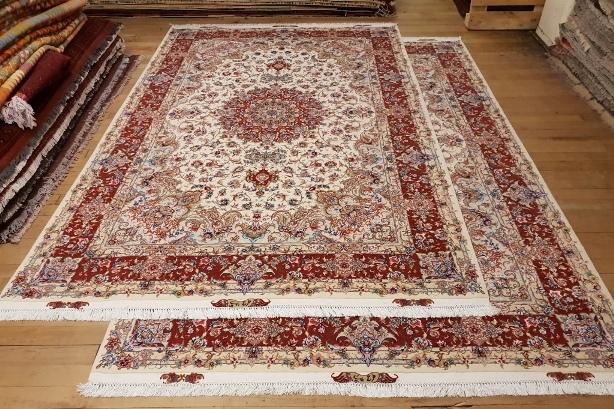 10x7 TWIN Tabriz Silk 55Raj Persian Rugs