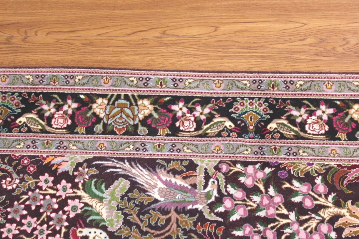 3x5 Tabriz 350 kpsi Persian rugs. 50 raj Tabriz Persian carpets with silk