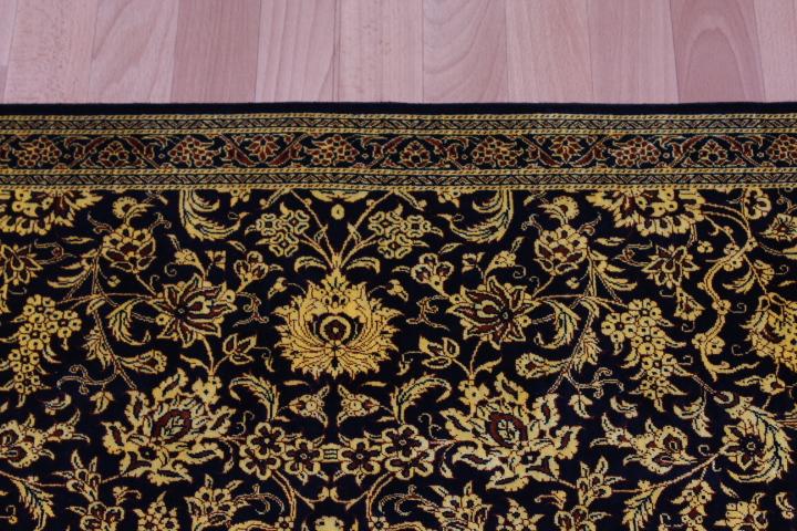 Versace Design Twin Qum Silk Persian Rugs Runner