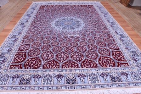 12x8 Nain Persian rug 6La 500 kpsi