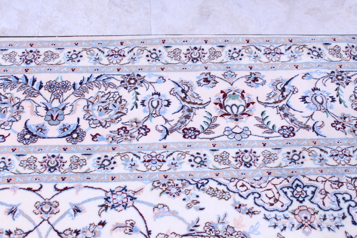12x8 Nain 6la persian rug with 500 kpsi