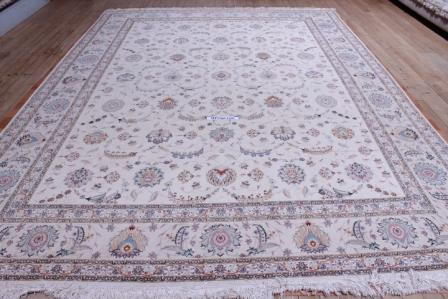 10x13 400kpsi silk foundation faraji Tabriz Persian rug