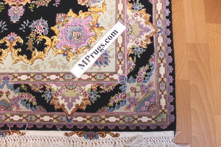 750 KPSI silk Tabriz Persian rug