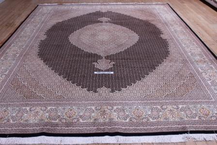 10x13 mahi tabriz persian rug with 350 kpsi