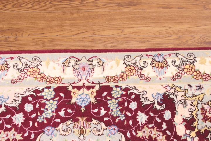 Examples Of Persian Rug #50835 On 4 Different Types Of Floors