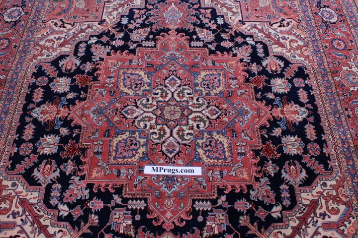 8x6 2.5x2m 50 raj 350 kpsi Tabriz Persian rug.
