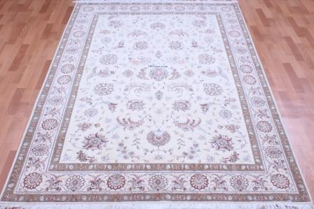 8x5 50 RJ 350 kpsi Tabriz Persian rug
