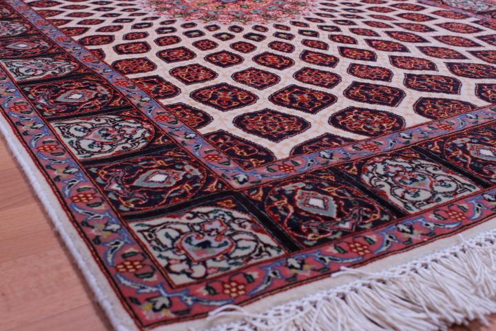 3x5 Gonbad Tabriz Persian rug, Rare Gombad carpet