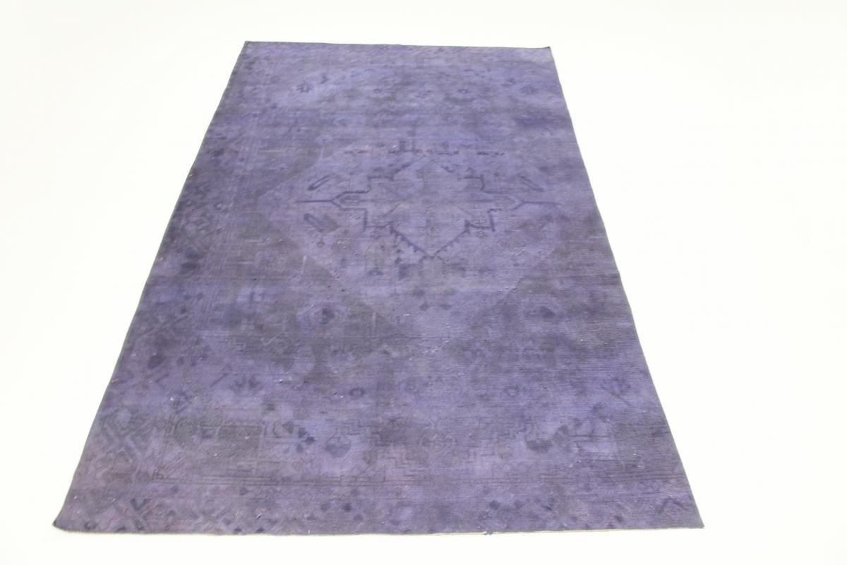 Vintage Persian Rug, 9x6 persian vintage distressed persian carpet