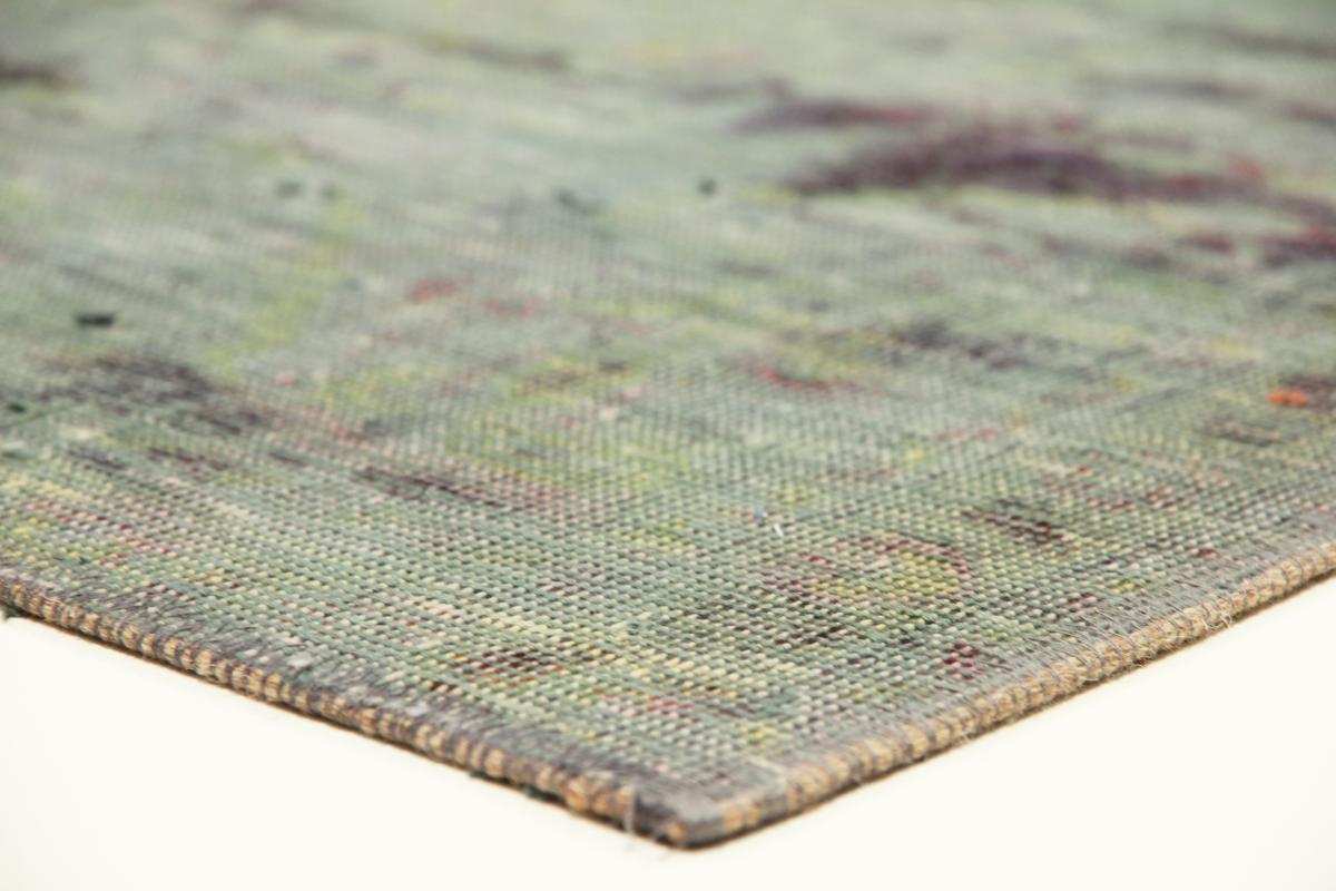 Vintage Persian Rug, 11x8 persian vintage distressed persian carpet