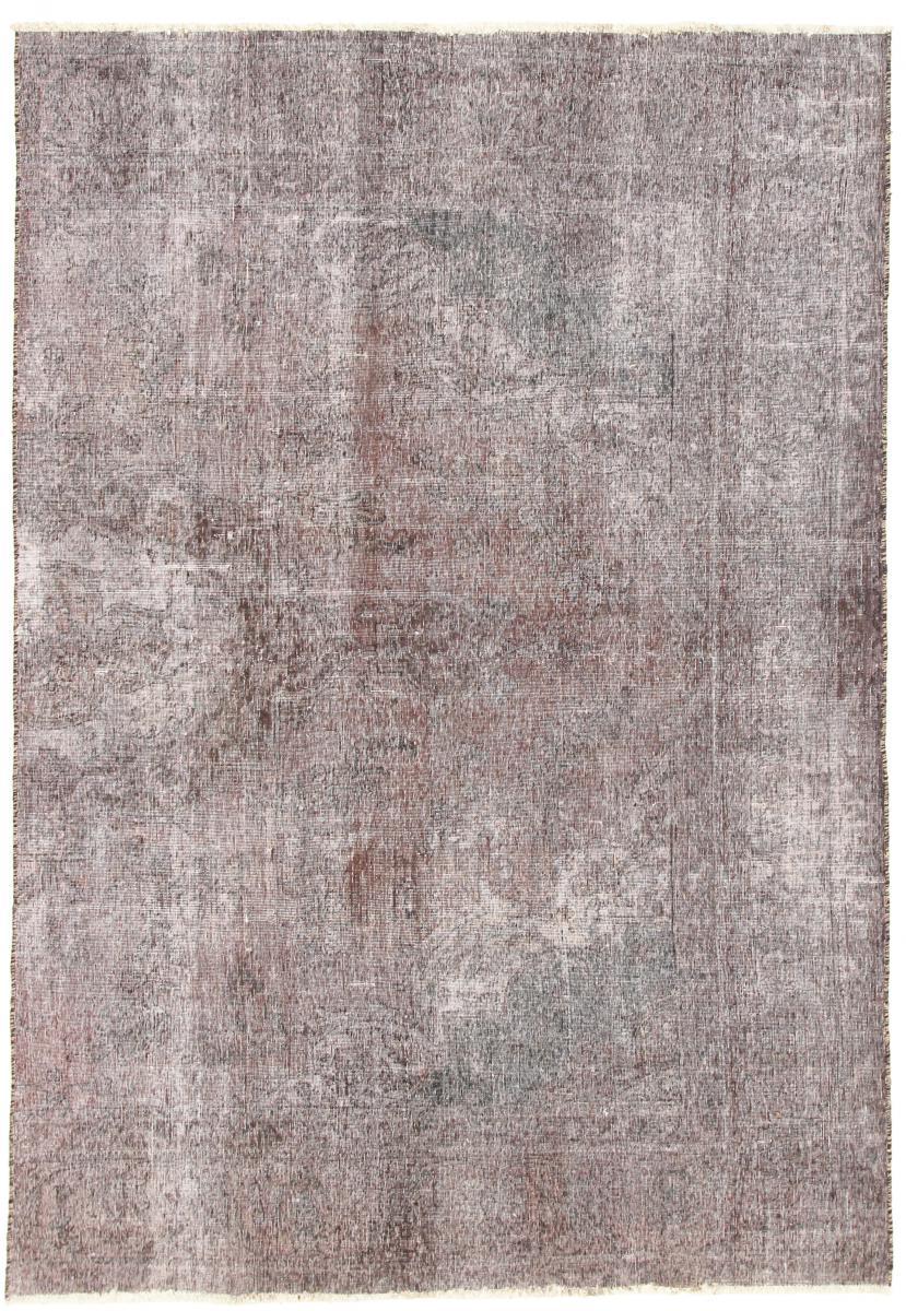 9x6 Vintage Persian Rug, 3m by 2m light persian vintage distressed persian carpet