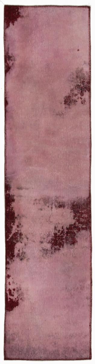 7x2 Vintage Persian Rug runner, 2,3x0,6m red persian vintage distressed persian carpet