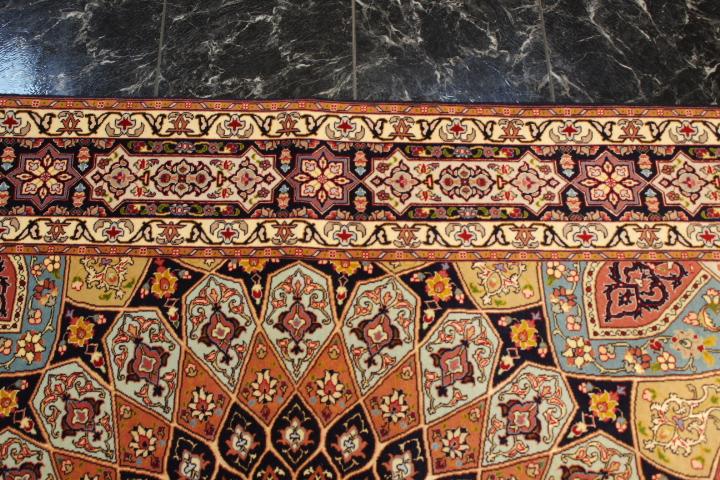 Gonbad Tabriz Persian rug, Gombad carpet