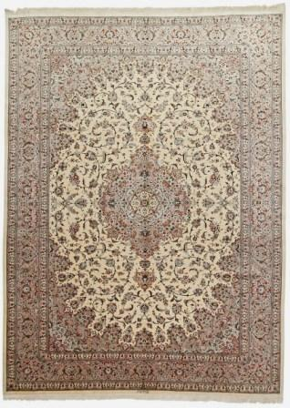3mx4m oversized Qom silk Persian rugs. Pure Silk Qum Persian carpet in 3m by 4m oversize.