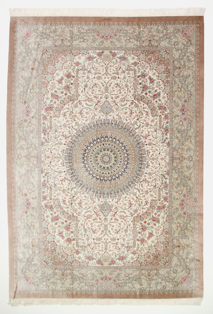 11x8 Silk Qom Persian Rugs Gorgeous Qum Carpets