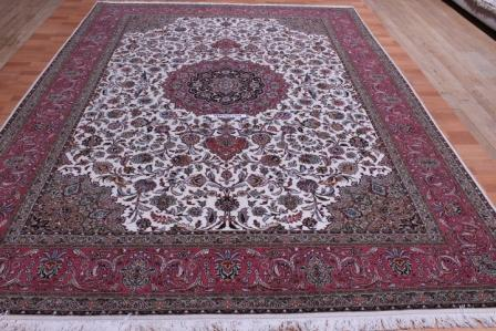 Genuine 50 Raj Tabriz Persian Rug