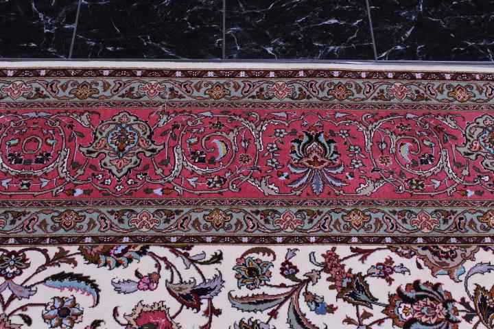 Low Priced Genuine 50 Raj Tabriz Persian Rug