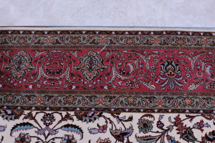 Low Priced Genuine 50 Raj Tabriz Persian Rug
