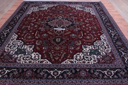 50 Raj 350 KPSI 8x11 Tabriz Heriz Persian Rug