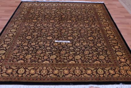 Versace Design Qum Silk Persian Rug