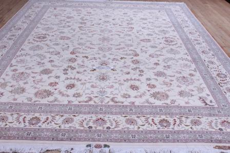 10x13 400kpsi silk foundation Tabriz Persian rug