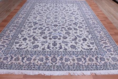 6Lah 500 KPSI 12x8 Nain Persian Rug.