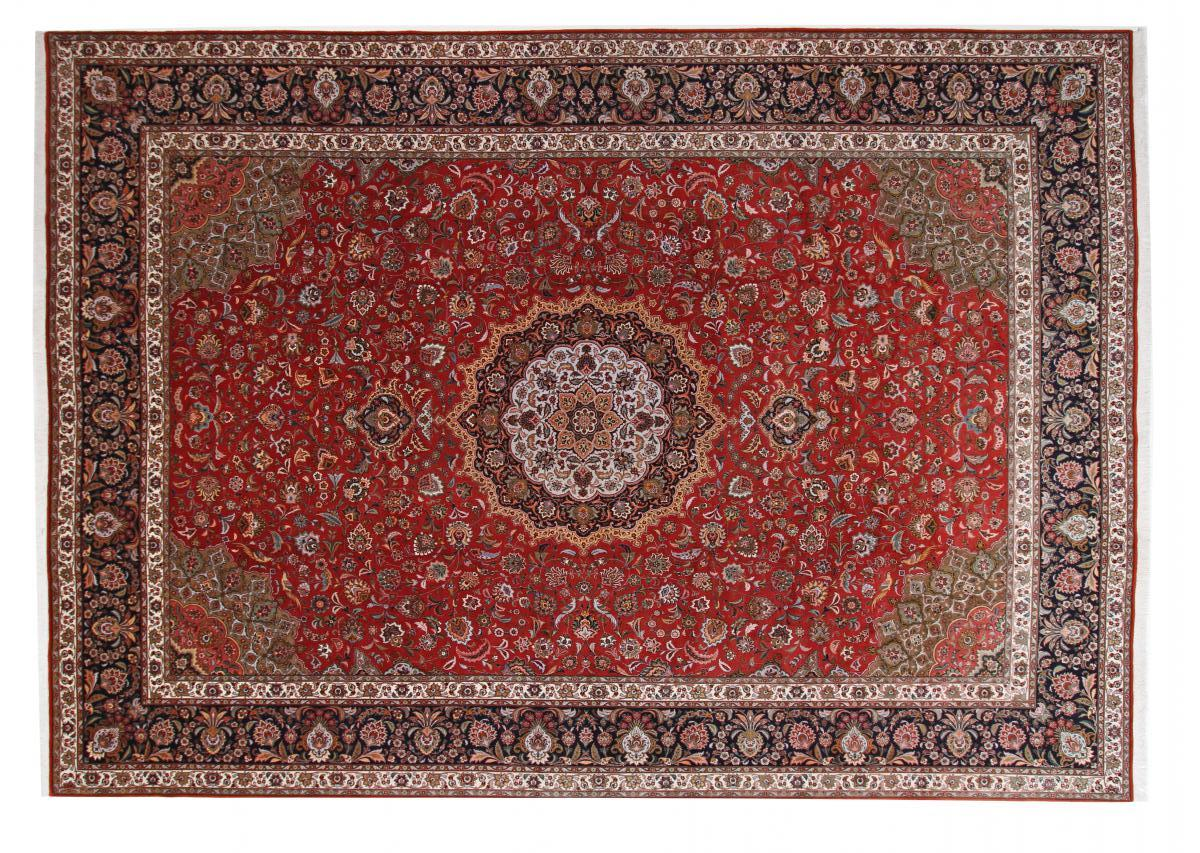 15x11 (488x345) Tabriz Persian rug with Silk