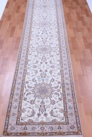12' 4m Isfahan silk Persian rugs