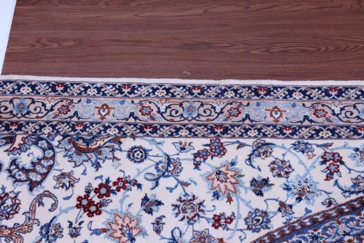 12x12 Square Nain Gonbad Persian rug 6Lah 500kpsi with silk