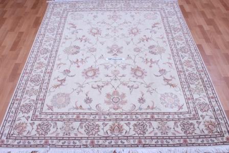 8x7 50 Raj Faraji Signature Tabriz Persian rug
